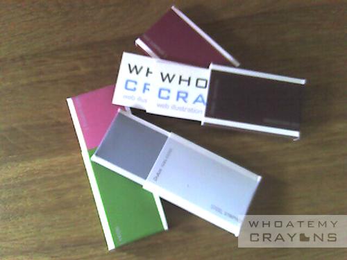 Moo-ing mini card holders