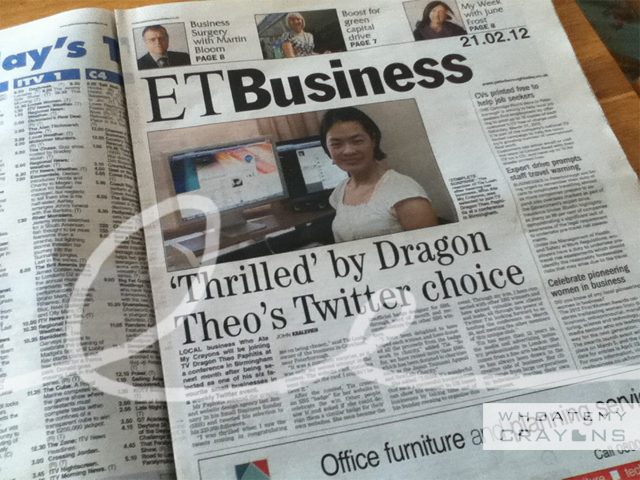 Thrilled by Dragon Theo's Twitter Choice