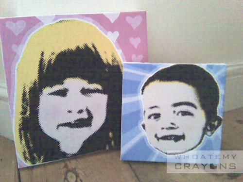 Keeping it local Popart canvas prints